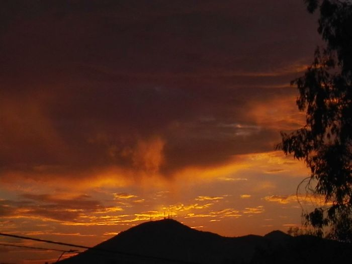 Desde mi ventana.... Volcano Lava Accidents And Disasters Sunset No People Outdoors Landscape