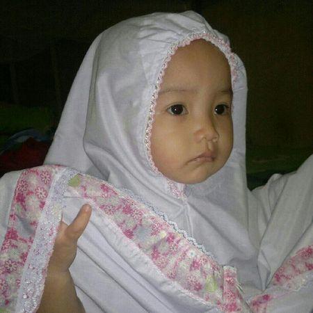 Keke belajar belajar sholat Muslimah I'm Proud To Be Muslim Children