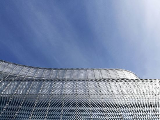 Low Angle View Sky Outdoors No People Pattern Day Rural Scene Nature Architecture Close-up Modernbuilding Modern Architecture Steel Structure  Cable Connection