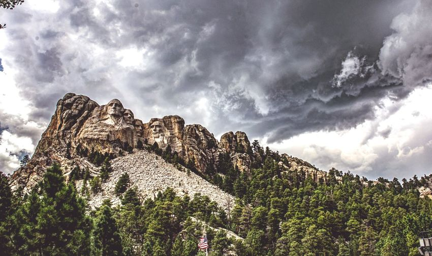 Cloud - Sky Nature Mountain Outdoors Landscape Mtrushmore NationalMonument Mt RushmoreVacations Storm Cloud EyeEmBestPics EyeEm Best Edits Landscape_Collection EyeEm Best Shots - Landscape Washington Jefferson Lincoln Roosevelt National Monument