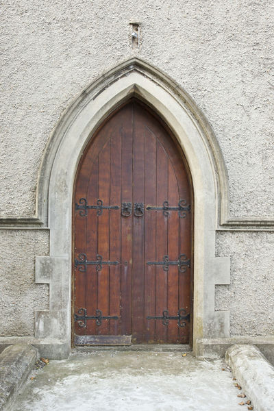 Architecture Building Exterior Built Structure Church Closed Day Door Entrance Front Door House No People Old Outdoors Wooden