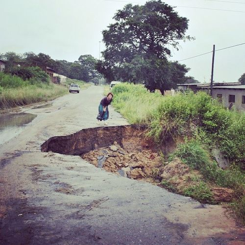 Potholes in acornhoekThisIsAfrica acornhoekPotholes Insanity