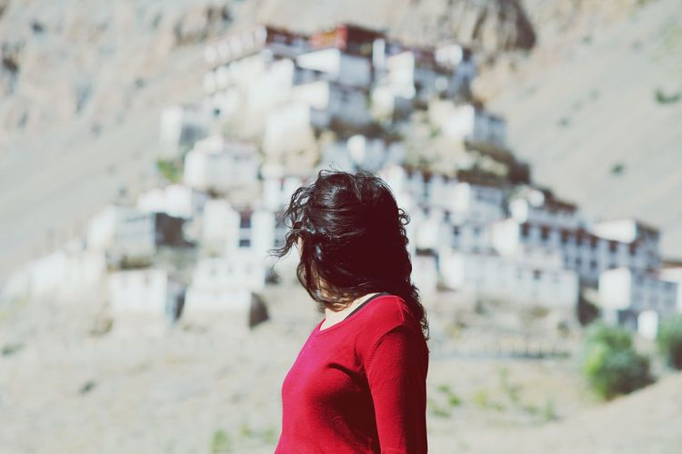 little by little, day by day... KeyMonastery Kaza Himachal India Peace And Tranquility Alone Time GypsySoul Pastel Power