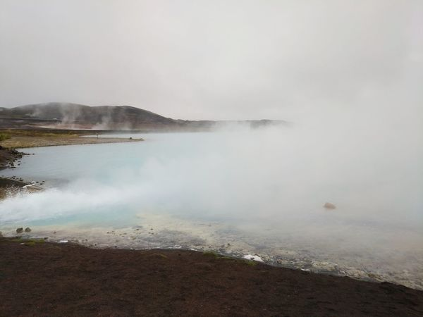 Fog Steam Heat - Temperature Water Environment Social Issues Outdoors Landscape Natural Phenomenon Hot Spring Volcanic Landscape Beauty In Nature Nature