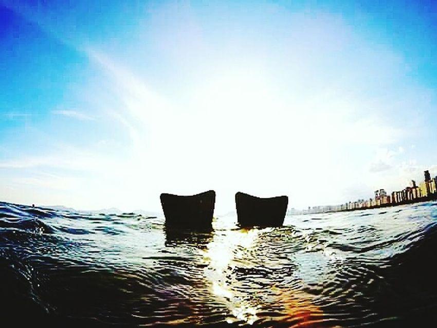 Goprohero+lcd 18-030 Gopro ILoveWater Fotografiaaquatica Aloha Oceanatlantic Sea Santos