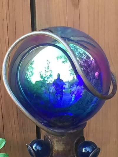 The Week On EyeEm EyEmNewHere Reflections Colourful Glass Ball. Brown Background