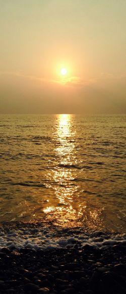 Sunset Seaview 西曬