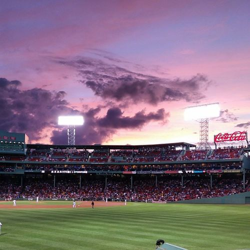 Another beautiful sunset at Myfenway tonight.