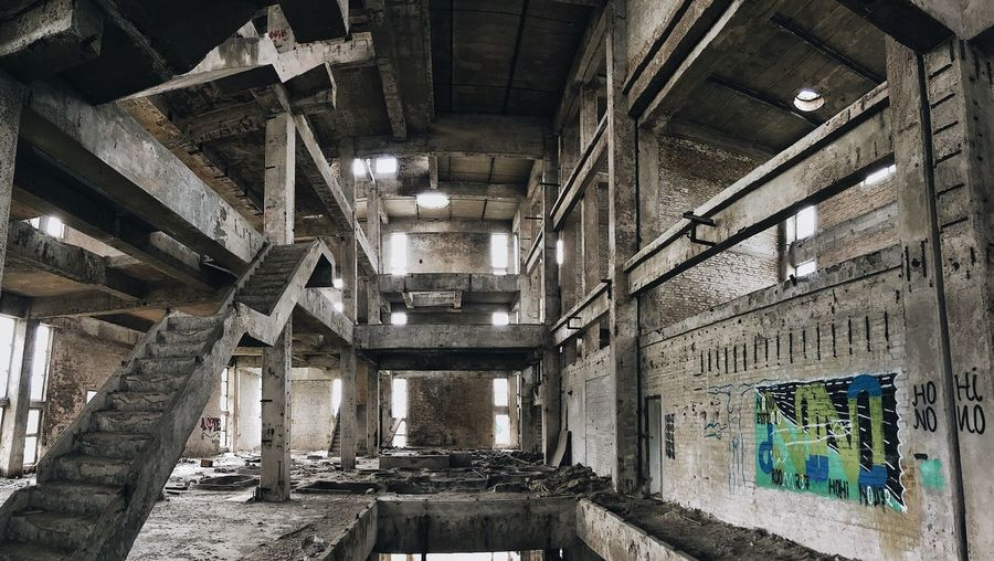 Indoors  Architecture Built Structure No People Day Live For The Story The Photojournalist - 2017 EyeEm Awards EyeEmNewHere The Street Photographer - 2017 EyeEm Awards Old Ruin Bad Condition People One Man Only Architecture The Street Photographer - 2017 EyeEm Awards