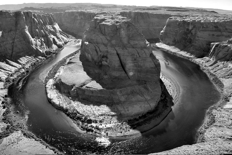 Horseshoe Bend Arizona Beauty In Nature Colorado River Geology Horseshoe Bend No People Outdoors River Rock Formation Tranquil Scene Tranquility
