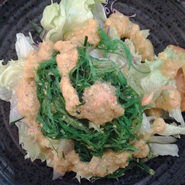 Wakamesalad Sushiteidressing Seaweed Japanesefood instafood