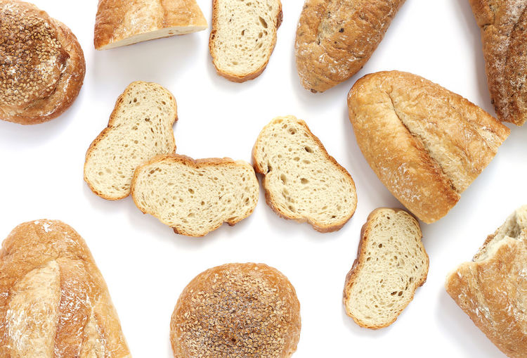 Fresh loaves of