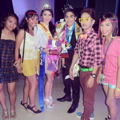 With these people :) CBANight Winner