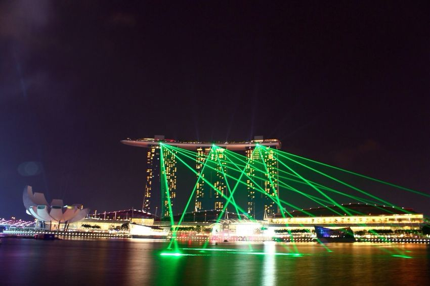 Marina Bay Sands: The Wonder Full Show • Experience Southeast Asia's largest #light and #water #show. @marinabaysands