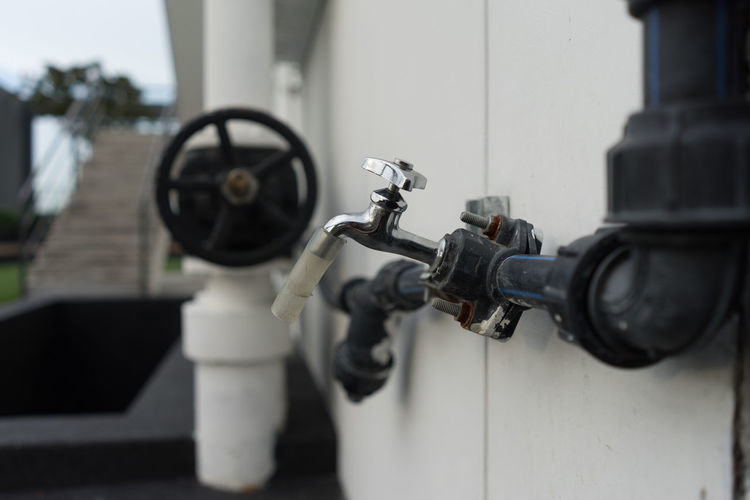 Close-Up Of Tap