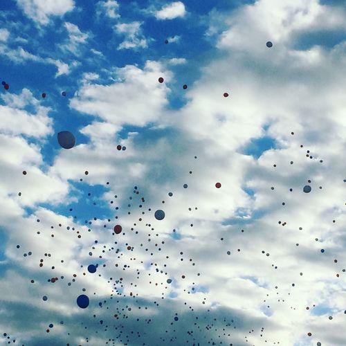 Bulutlar Balon Renk