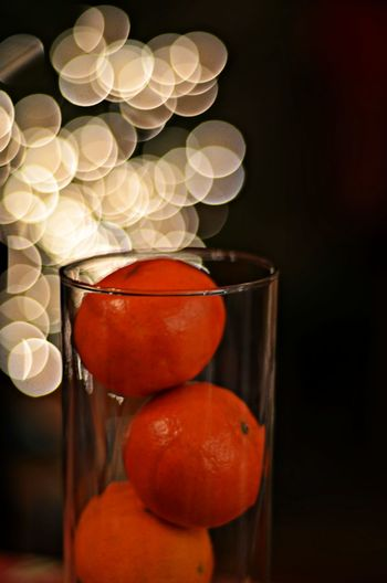 Bokeh Bokeh Photography Close-up Focus On Foreground Food Freshness No People Orange Color Organic Still Life