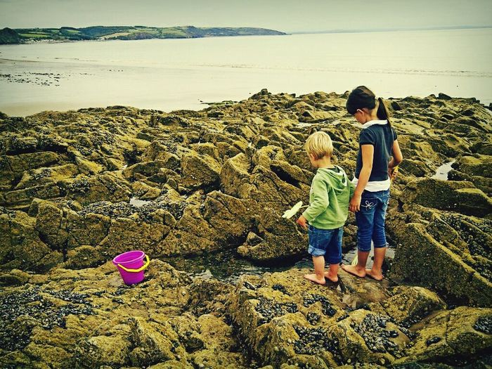 Rockpooling Holiday Memories Coastal_collection Landscape_Collection