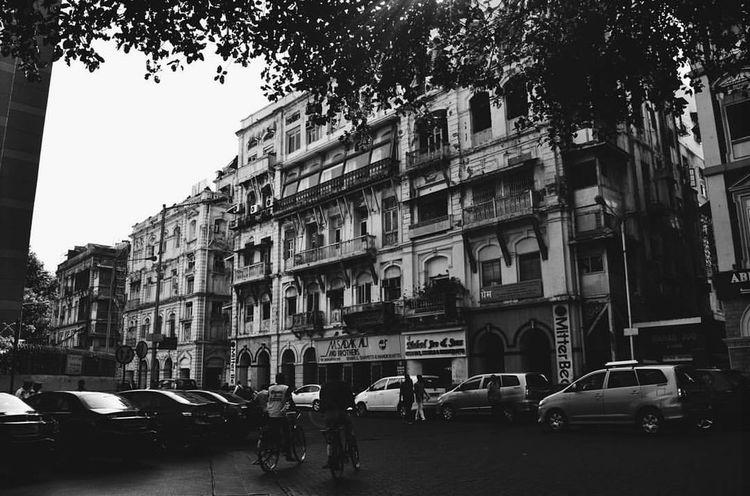 Kala Ghoda, Fort, Mumbai, India. Building Exterior Architecture Mumbai Mumbai_uncensored Kalaghoda Fortmumbai India Blackandwhite Black & White Blackandwhite Photography Men