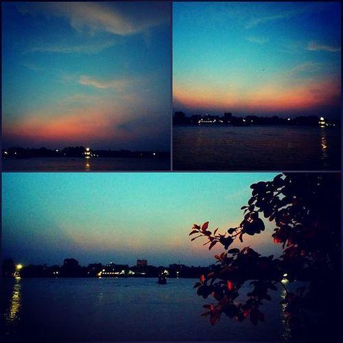 Neemtalaghat Riverside Ghaat Pretty Sunsets Collage Evenings Vella Aghorimeetings 7pm Journeytotheotherside Ganga Ganges Ramganga Gomti Ghagar Gandaki Kos Mahananda Jamuna Son Chambal Tamsa Ken Shanda punp outoftributaries