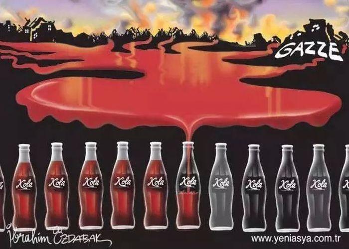 Coca-cola Boycott Boycott Israel Killer ısrael ........ FUCK YOU.....