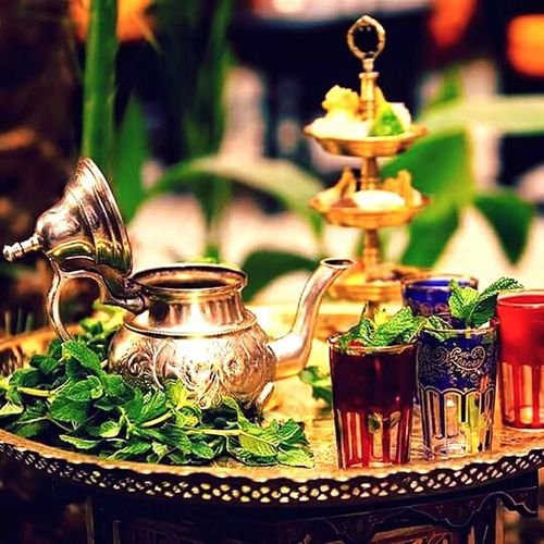 Thiere Thee Morocco Maroc Berber  Arabic Lanterne Traditional Culture Traditional Menthe