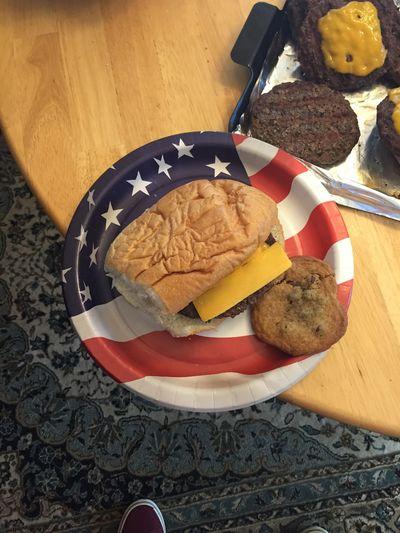Burgers MERICA!! BBQ Picnic Cookies SEN1OR5