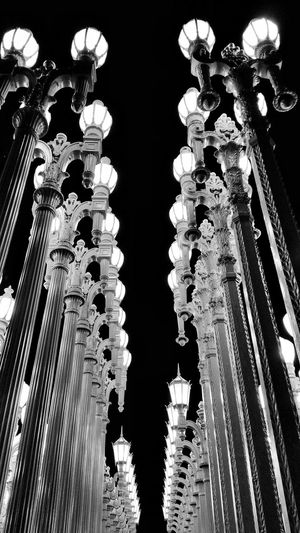 LACMA LIGHTS in L.A. View Lights Photography Los Angeles, California Lighting LACMA URBAN LIGHTS Sightseeing Enjoying The Sights Fun Mobile Photography