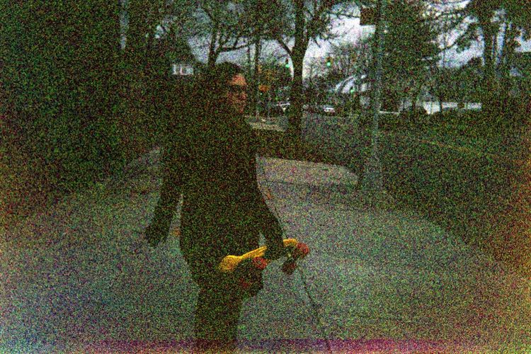 Expired film from 2003 City Life Day Expired Film Expiredfilm Film Outdoors Pennyboard Person Skateboarding Street Walking Winter People And Places Enjoy The New Normal What Who Where My Year My View Long Goodbye Art Is Everywhere