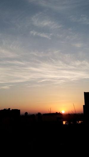 Sky Sunrise Egypt Esna HTC Desire