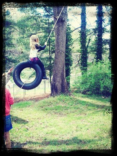 #Tire Swing PIPER