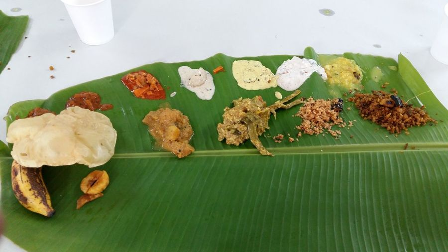 Traditional Food of South India Food Food And Drink Food Serving Freshness Green Color Healthy Eating Leaf Rice South Indian Food Traditional Foods Traditionalfood Variation