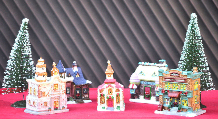 Merry Christmas! Christmas Christmas Town Christmas Trees Christmas Village Happy Holidays Architecture Christmas Decoration Day Decoration Merry Christmas No People Outdoors Religion Spirituality Village