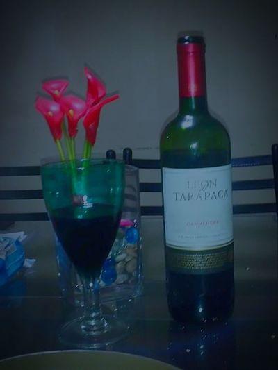 Buen vino chileno ..