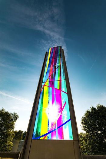 Liverpool Metropolitan Cathedral Stained Glass Sky Liverpool, England Architecture