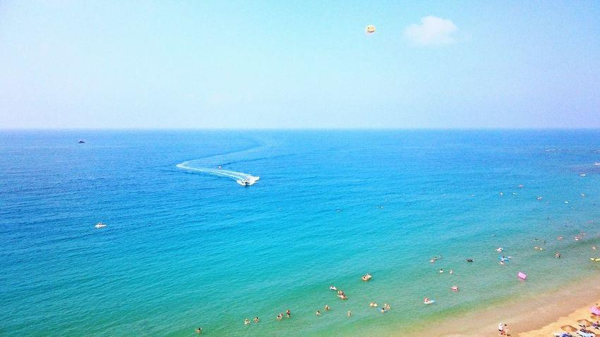 Sea Flying Outdoors Nature Horizon Over Water Sailing Water Beauty In Nature Avsallar Turkey