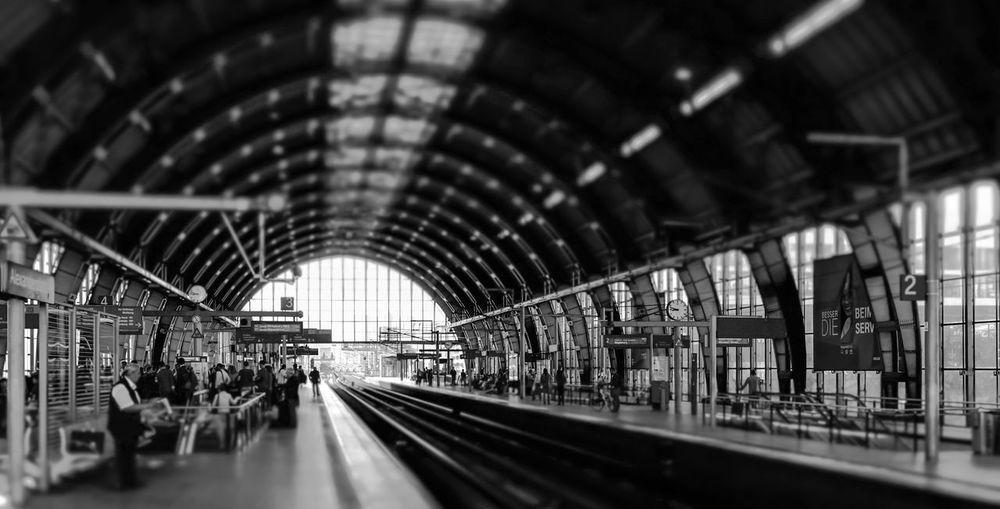 Interior Of Berlin Alexanderplatz Station