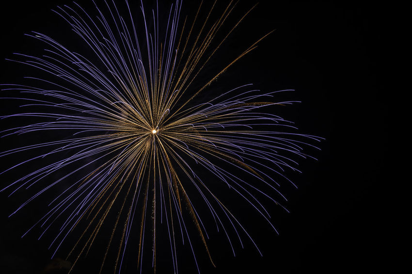 Fireworks Black Background Celebration Event Firework FreeTime Illuminated Motion Multi Colored Night Outdoors Sky