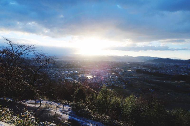 Beautiful Sunrise New Years Day Relaxing Hello World Gleen FUKUSHIMA Bule Sky Natural Canon 7D MarkII