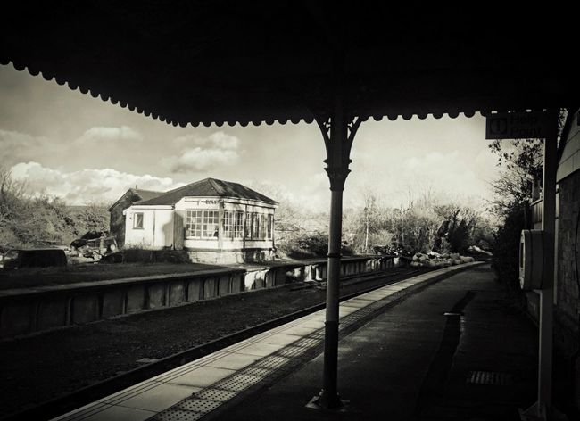 Darkness And Light Tadaa Community Black And White Photography Fortheloveofblackandwhite IPhone Photography Black & White Wandering IPhoneography Exploring Journey Train Station