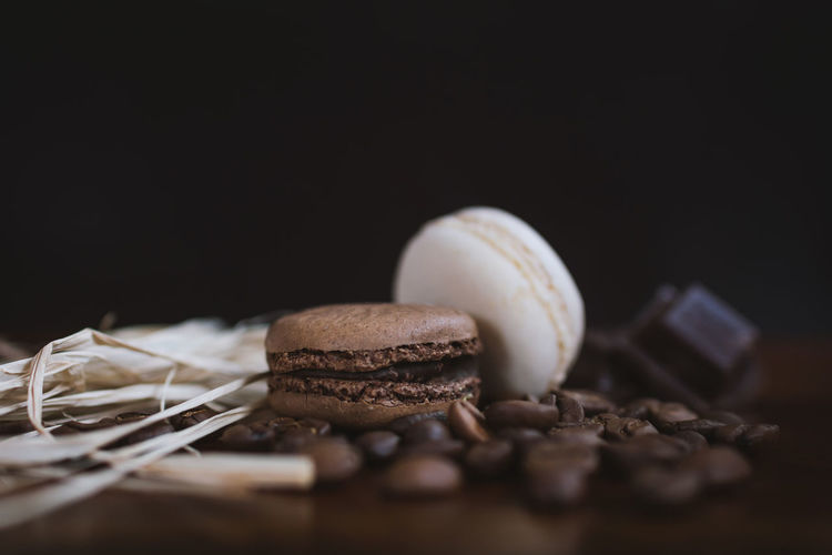 Black Background Brown Cake Chocolate Close-up Food Food And Drink Freshness Indoors  Indulgence No People Ready-to-eat Still Life Studio Shot Sweet Food Table Temptation