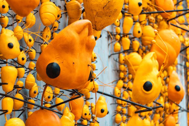 Close-up of orange for sale