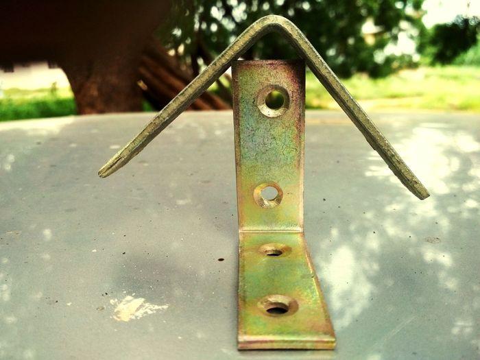 Iron - Metal L Clamp