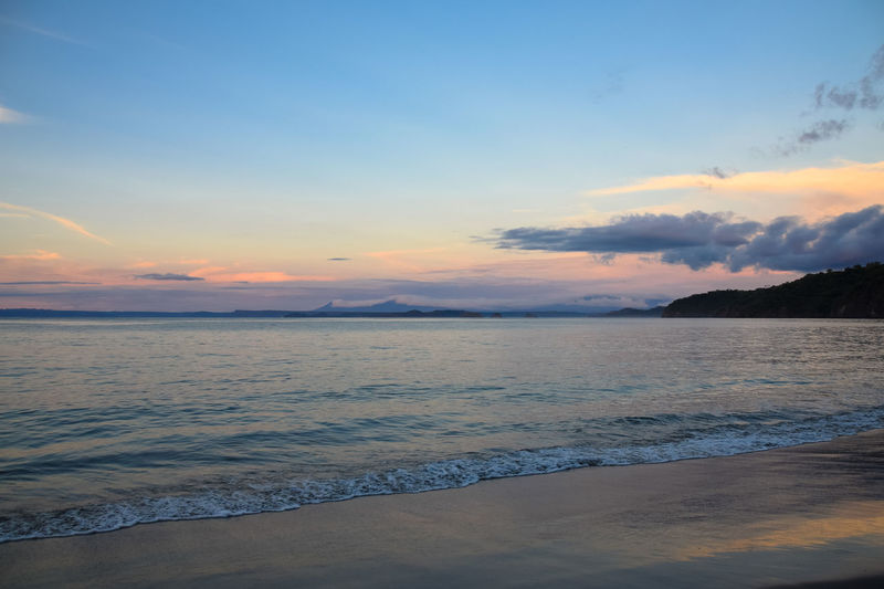 Beach Beauty In Nature Cloud - Sky Day Dramatic Sky Landscape No People Outdoors Scenics Sea Sky Sunset Travel Destinations Water Guanacaste  Guanacaste, Costa Rica Guanacaste Costa Rica Costa Rica