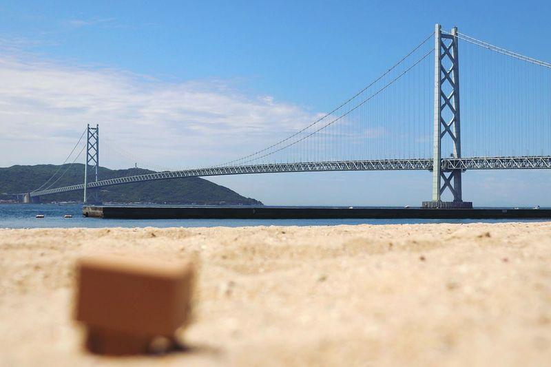 Beach Travel Suspension Bridge Sand Sky Sea EyeEm Gallery
