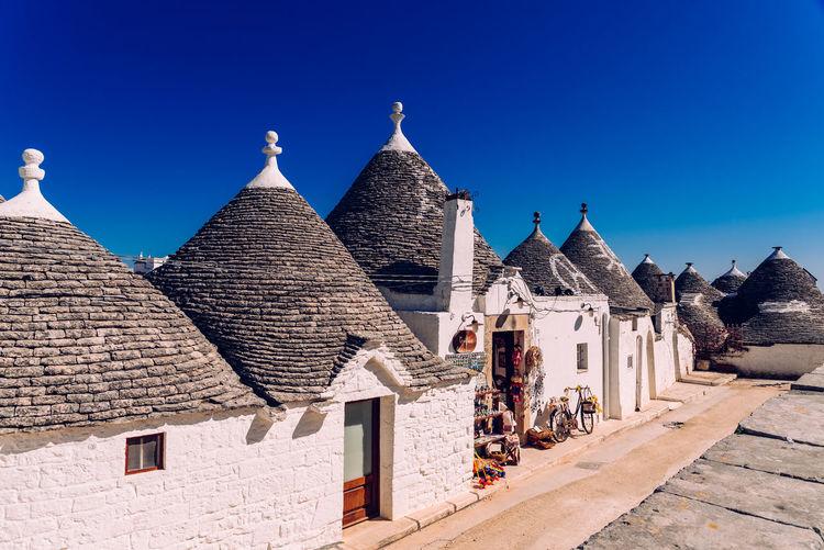 Historic building against blue sky