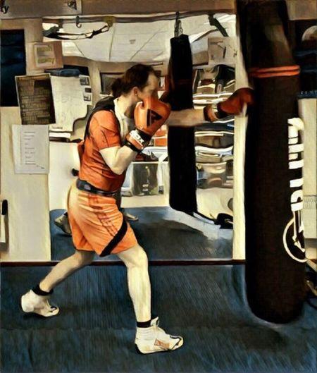 Boxing with SSJ4 shirt. Boxing Rdx Dragonball Training