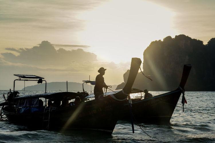 Railay boats