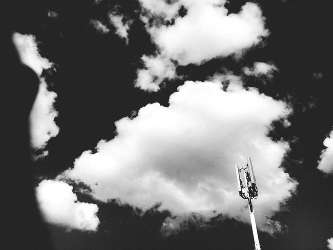 Escape where I am Abused Blackandwhite Photography Cloud - Sky