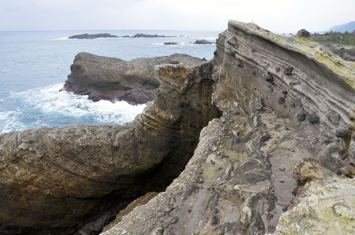 Beauty In Nature Coastline Rock Rock - Object Rock Formation Scenics Sea Water Natures Diversities Hualien, Taiwan